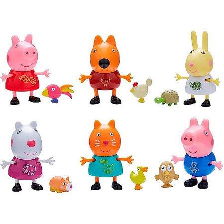 PEPPA PIG AMIGOS & PETS SORTID