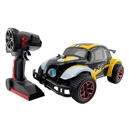 Carro de Controle Remoto Xrider Vermelho e Amarelo CKS TOYS