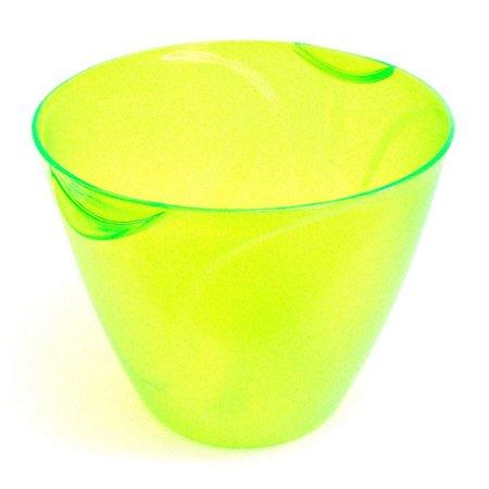 Balde Gelo 9 Litros Verde Neon Translucido Neoplas