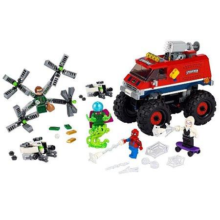 LEGO CAMINHAO GIGANTE DE HOMEM ARANHA VS