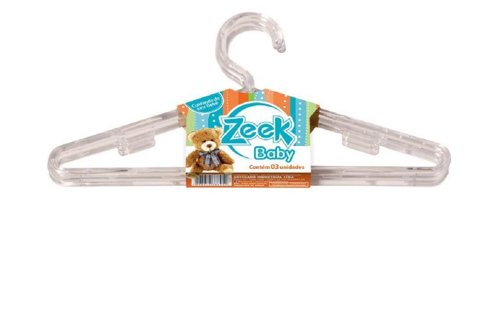 Cabides Infantis Zeek - Enxoval Bebe A Crianca