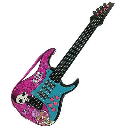 Guitarra Eletronica Infantil Lol Surprise Candide 9820