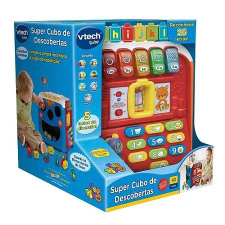 Brinquedo Super Cubo de Descobertas C Som Yes Toys