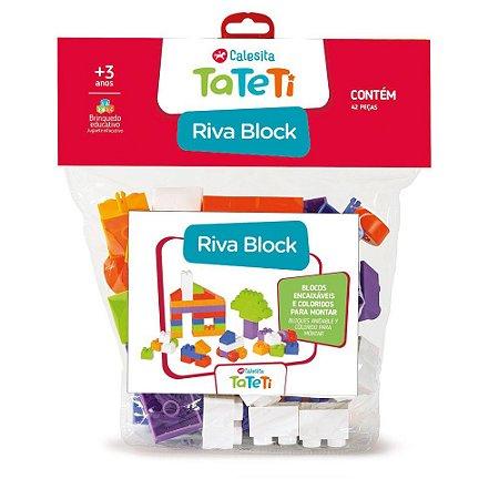 Blocos De Montar 42 Pecas - Riva Block - Tateti Calesita 002