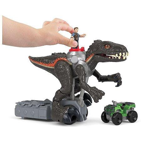 Imaginext Jurassic World Indoraptor Grande Fmx86 Mattel
