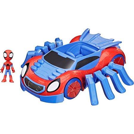 Carro Spider Man Boneco Homem Aranha Marvel Spidey Friends