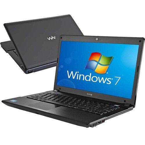 Notebook CCE Win E35 Core i3 2310 com 8GB de Memória e SSD 120GB