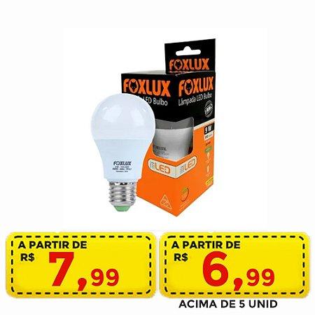 lampada led 9w forlux - Por apenas R$ 7,99 ou acima de 5 penas por R$ 6,99 unid.