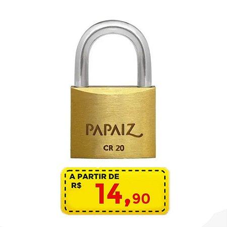 cadeado papaiz 20 mm POR APENAS R$ 14,90
