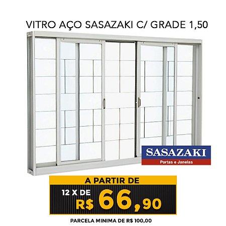 VITRO AÇO SASAZAKI C/ GRADE 1,50