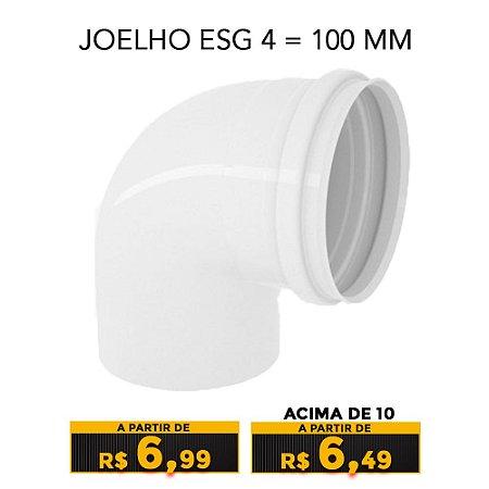 JOELHO ESG 4 = 100 MM