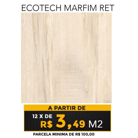 Piso Ecotech Marfim Ret