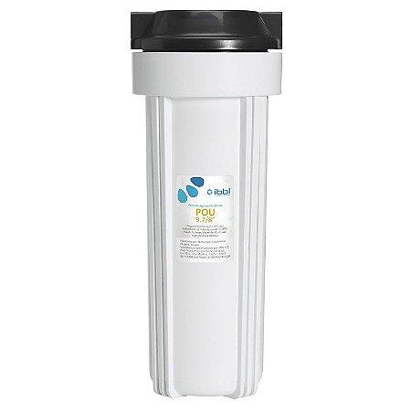 """Filtro POU - IBBL 9.7/8"""" para Ponto de Uso, Pias, Cozinha, Lavatórios e Máquinas de Lavar Roupas"""