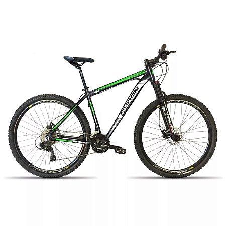 Bicicleta 29 Byorn 27 Marchas Shimano Freio Hidraulico Susp c/ Trava