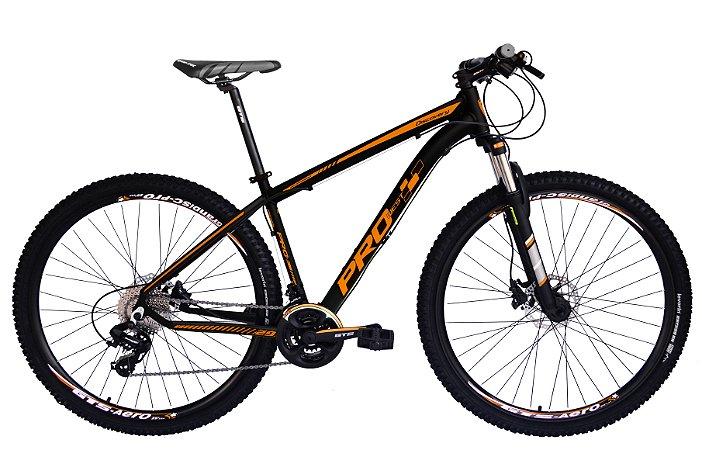 Bicicleta 29 Prowest 24 Marchas Shimano com Freio a Disco Preto
