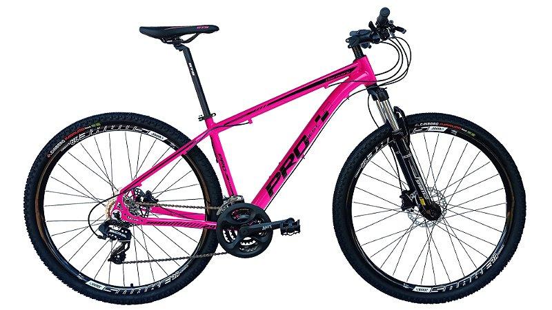 Bicicleta 29 Prowest 27 Marchas SR, Freio a Disco Hidraulico, Susp c/ Trava, Cores