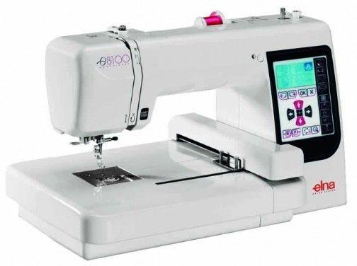 Máquina de Bordar Elna 8100