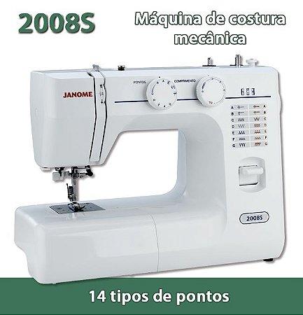 Máquina de Costura Doméstica Janome 2008S