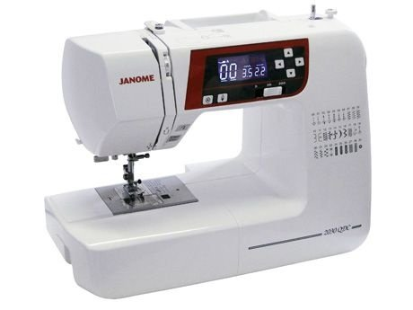 Máquina de Costura Eletrônica Janome 2030QDC