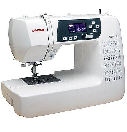 Máquina de Costura Eletrônica Janome 3160QDC