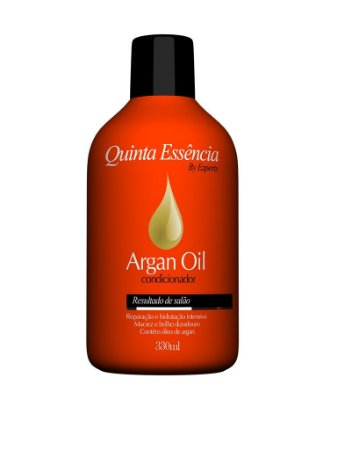 CONDICIONADOR ARGAN OIL QUINTA ESSÊNCIA 330ML