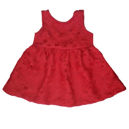 Vestido de Renda Vicky  Vermelho