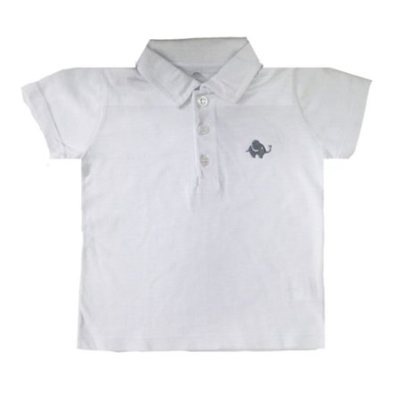 Camiseta Polo Letiti José Branco