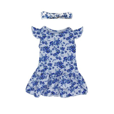 Vestido Amelie Floral Azul