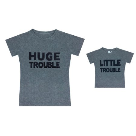 Kit camisetas Letiti Unissex TROUBLE