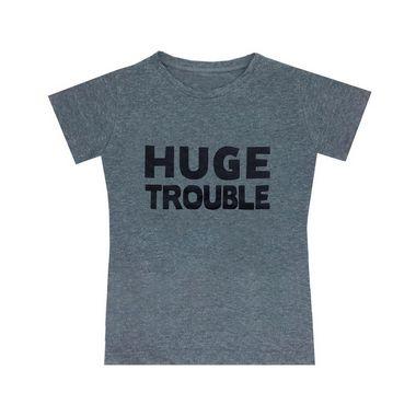 camisetas Letiti Unissex TROUBLE Adulto