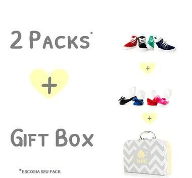 2 Packs + 1 Gift Box