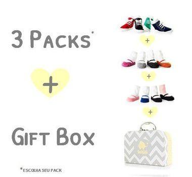 3 Packs + 1 Gift Box