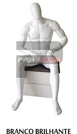 Manequim Masculino Sentado - Ref.: 5002