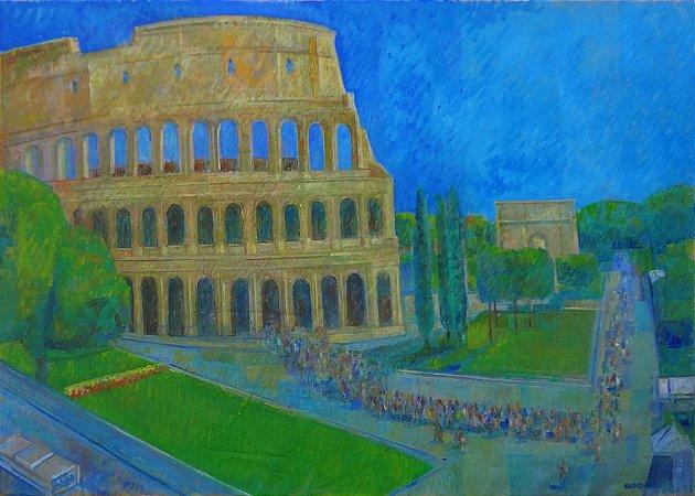Pôster Cidade de Roma - Itália