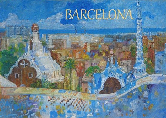Pôster Cidade de Barcelona - Espanha