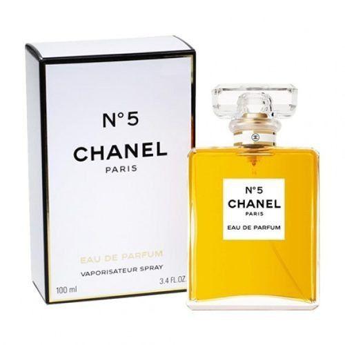 Chanel n 5 feminino de 100 ml.