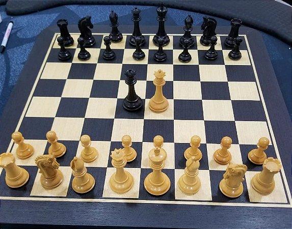 Jogo de Xadrez - Sinquefield Cup 2014 - 3,75 polegadas - madeira
