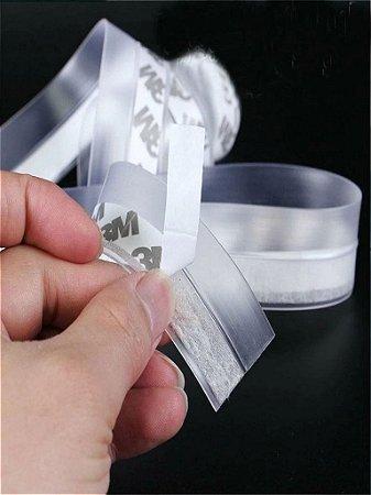 Fita adesiva Vedação Porta Janela Isolamento Acústico de 1m