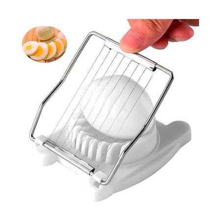Fatiador Cortador de Ovos com Fio de Aço Inox