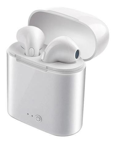 Fone De Ouvido Sem Fio Microfone Bluetooth I7s 5.0 Upgraded