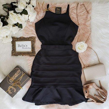 Vestido Lara Preto