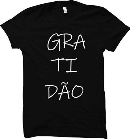Camiseta Gratidão - Good Vibes