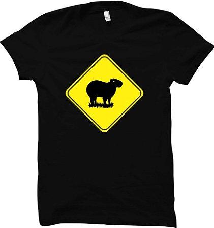 Camiseta Capivara - Vida Selvagem