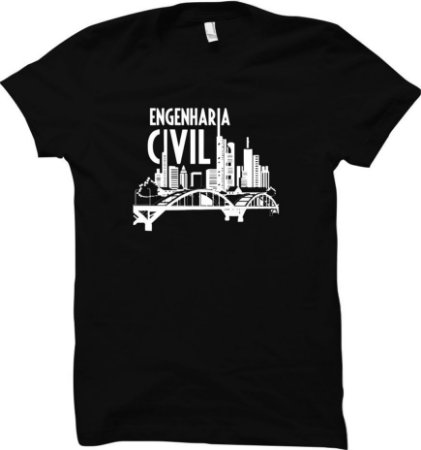 Camiseta Curso de Engenharia Civil