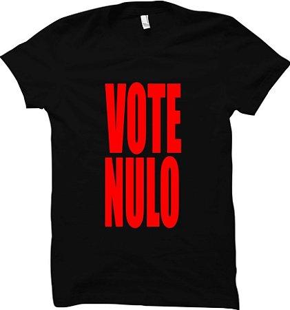 Camiseta Vote Nulo
