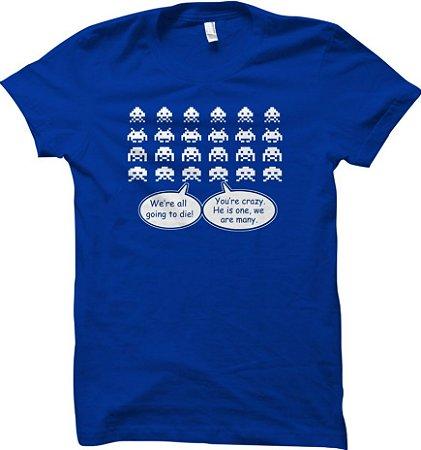 Camiseta Invasão Espacial