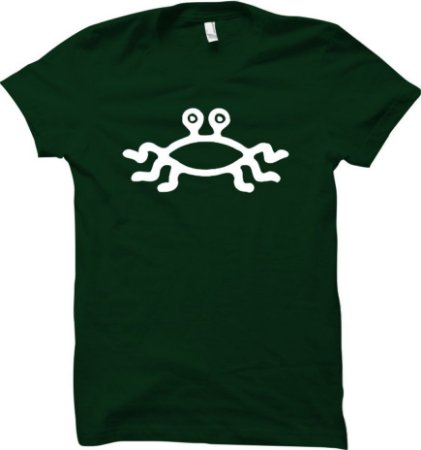 Camiseta Monstro Espaguete Voador - Pastafarianismo