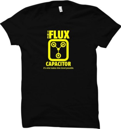 Camiseta Capacitor de Fluxo