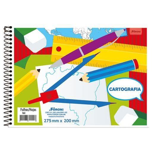 CARTOGRAFIA CAPA FLEX (SEM SEDA) 48 FOLHAS FORONI 3089150