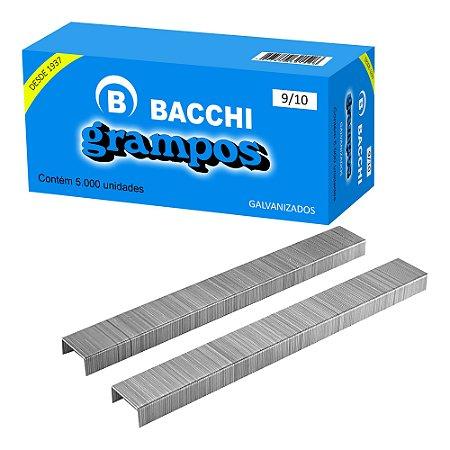 GRAMPO GALVANIZADO RAPID 9/10 CAIXA COM 5000 UN. BACCHI